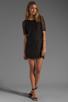 Image 2 of PJK Patterson J. Kincaid Nicole Lace Shift Dress in Black