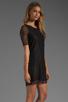 Image 3 of PJK Patterson J. Kincaid Nicole Lace Shift Dress in Black