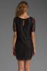 Image 4 of PJK Patterson J. Kincaid Nicole Lace Shift Dress in Black