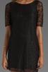 Image 5 of PJK Patterson J. Kincaid Nicole Lace Shift Dress in Black