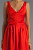 Image 5 of Patterson J. Kincaid x the man repeller Kramer Dress in Fiery Red
