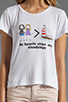 Image 3 of PJK Patterson J. Kincaid x the man repeller Mc Neal Friendships Tee in White