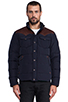 Image 1 of Penfield Stapleton Down Jacket in Navy