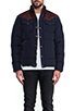 Image 2 of Penfield Stapleton Down Jacket in Navy