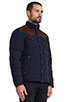 Image 3 of Penfield Stapleton Down Jacket in Navy