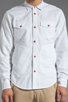 Image 4 of PRPS Goods & Co. Oxford Shirt in White