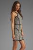 Image 3 of Parker Palms Dress in Black/White
