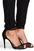 Image 6 of Parker Autumn Sequin Jumpsuit in Black