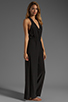 Image 3 of Plenty by Tracy Reese Crepe de Chine Surplice Jumpsuit in Black