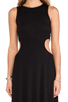 Image 4 of Rachel Pally Brentwood Cut Out Dress in Black