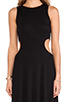 Image 5 of Rachel Pally Brentwood Cut Out Dress in Black