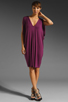 Image 2 of Rachel Pally Barret Drape Dress in Bordeaux