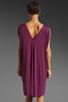Image 5 of Rachel Pally Barret Drape Dress in Bordeaux