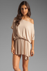 Image 1 of Rachel Pally Thea Mini Dress in Bamboo