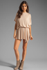 Image 3 of Rachel Pally Thea Mini Dress in Bamboo