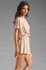 Image 4 of Rachel Pally Thea Mini Dress in Bamboo