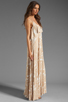 Image 3 of Rachel Pally Noomi Maxi Dress in Bamboo Current