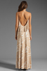 Image 4 of Rachel Pally Noomi Maxi Dress in Bamboo Current