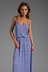 Image 1 of Rachel Pally Rib Graciella Dress in River Stripe