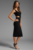 Image 3 of Rachel Pally McKay Cut-out Dress in Black