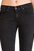 Image 4 of rag & bone/JEAN Slim Fit Skinny in Rock with Holes