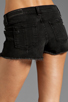Image 6 of rag & bone/JEAN Mila Short in Destroyed Black