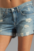 Image 4 of rag & bone/JEAN Boyfriend Short in Tattered