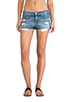 Image 1 of rag & bone/JEAN The Mila Short in Moss