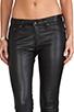 Image 4 of rag & bone/JEAN The Leather Skinny in Black