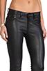 Image 5 of rag & bone/JEAN The Leather Skinny in Black