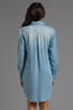 Image 5 of Rails Kyley Tencel Denim Tunic Dress in Light Blue