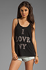Image 1 of Rebel Yell NY Vintage Tank in Black