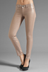 Image 1 of Rich & Skinny Legacy Sparkle Metallic Skinny in Barbie