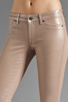 Image 4 of Rich & Skinny Legacy Sparkle Metallic Skinny in Barbie