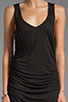 Image 5 of Riller & Fount Christina V-Neck Tunic Dress in Black