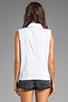Image 3 of Rebecca Minkoff Jodi Vest in Burnt Orange