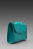Image 3 of Rebecca Minkoff Diamond Quilt Mini Affair in Sea Green