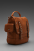 Image 3 of Rebecca Minkoff Logan Backpack in Almond
