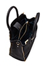 Image 4 of Rebecca Minkoff Amorous Satchel in Black