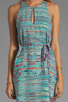 Image 5 of Rory Beca Palmer Keyhole Tunic in Malbec
