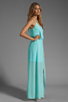 Image 3 of Rory Beca Hess Drape Gown in Ice