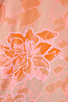 Image 4 of Rebecca Taylor Hibiscus Shirt in Tangerine