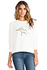 Image 1 of RVCA Sanderling Sweatshirt in Natural