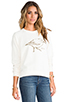 Image 2 of RVCA Sanderling Sweatshirt in Natural