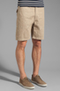 Image 2 of Steven Alan Matt Short in Khaki Marin
