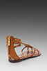 Image 4 of Sam Edelman Genna Sandal in Saddle