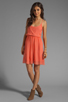 Image 2 of Sanctuary Sand Beneath Your Toes Dress in Tequila Sunrise