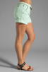 Image 2 of Sanctuary Liberty Roll Short with Belt in Mint