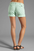Image 3 of Sanctuary Liberty Roll Short with Belt in Mint
