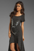Image 1 of Sauce Mirror Bunny Dress in Grey